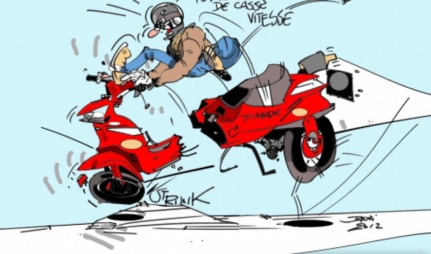 les casses-vitesses