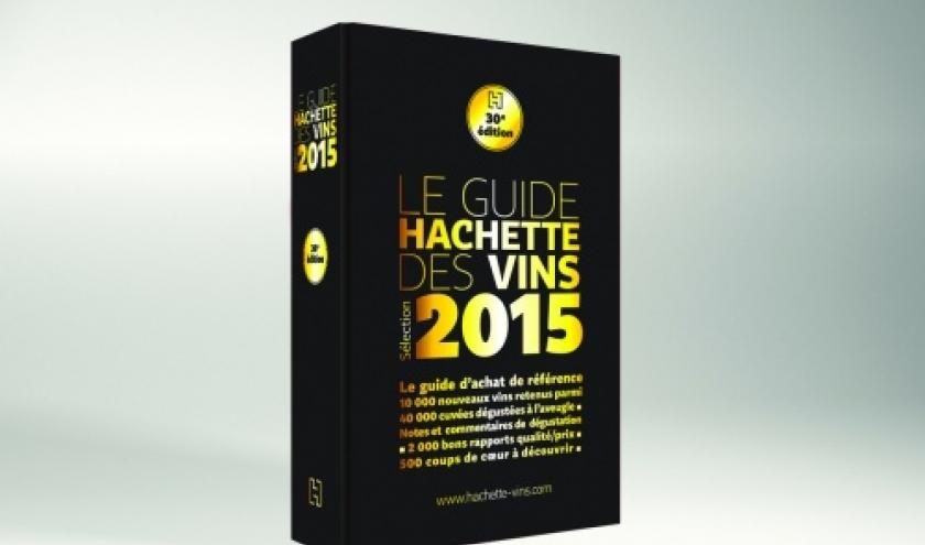 Le Guide Hachette des vins 2015.