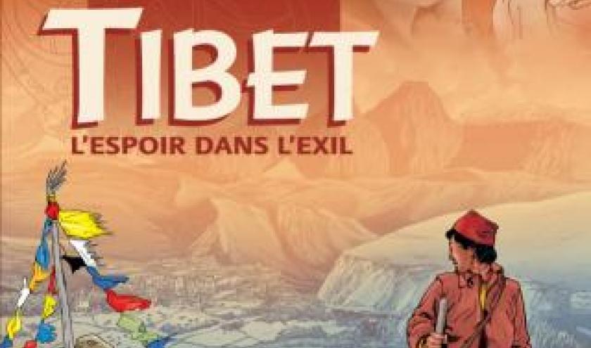 Tibet l'espoir dans l'exil de Veronique Jannot et Glogowski  EDitions du Signe