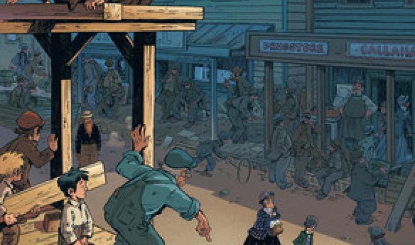 Le train des orphelins de Charlot et Fourquemin   Editions Bamboo.