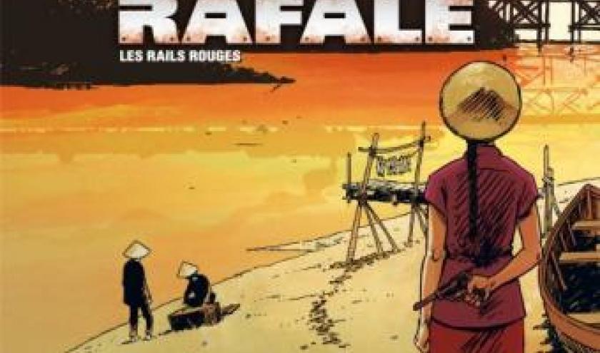 La Rafale T1 - Les rails rouges de Winoc, Cothias et Ordas  Editions Bamboo.