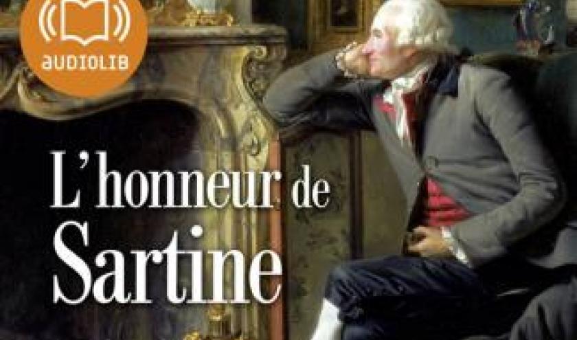 L'honneur de Sartine de JF Parot – Editions Audiolib.