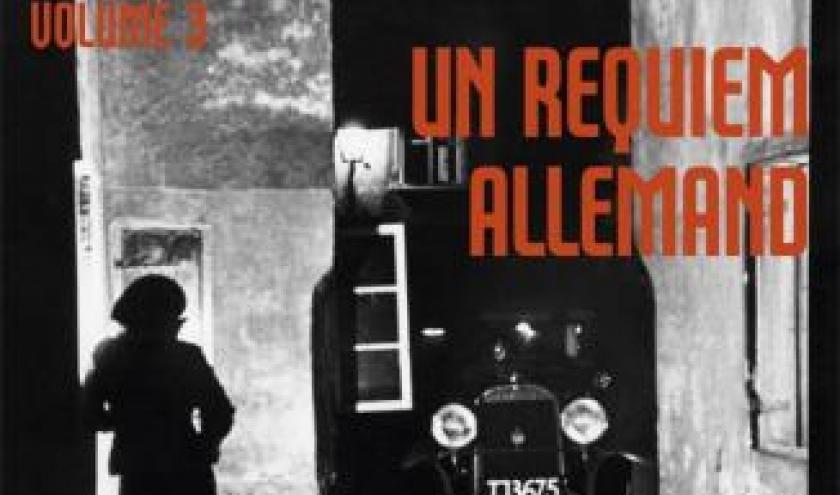 La Trilogie Berlinoise T3 Un requiem allemand de Philip Kerr  Editions Audiolib.