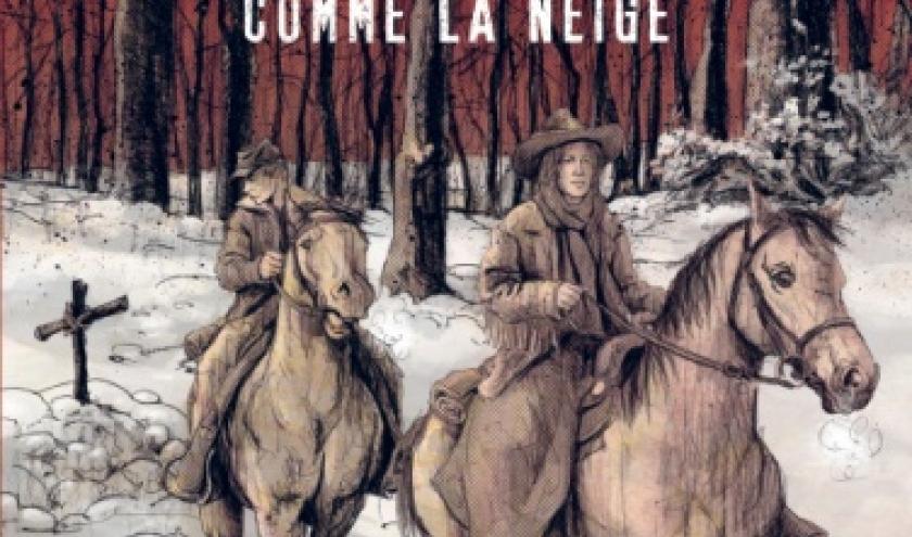 Rouge comme la neige de Ch. De Metter   Casterman.