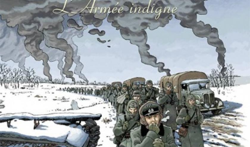 Amours fragiles  L Armee indigne de Ph. Richelle et JM Beuriot   Editions Casterman.