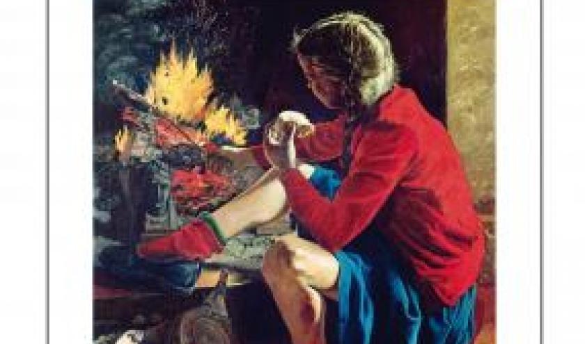 Petite fille rouge avec un couteau de Myrielle Marc  XO Editions.