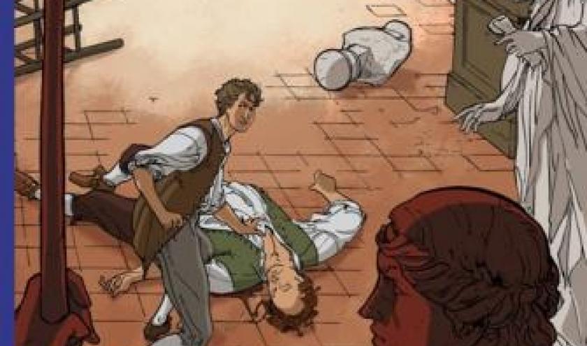 Lois T5 - L'Apollon de sang de P. Weber et O. Paques  Casterman.