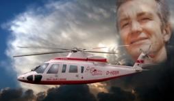 a. Premier hélicoptère du Docteur Luc Maquoi