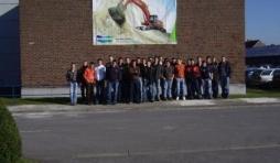 L'Athénée Royal de Vielsalm en voyage à Frameries pour la visite de l'usine Doosan