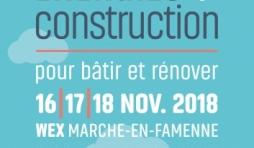 ENTREE gratuite pour le salon Energies + Construction
