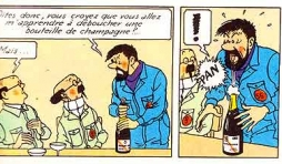 Champagne de Tintin