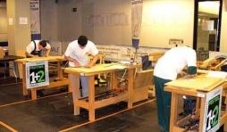 Concours national de menuiserie : Le Rabot d'or 2008