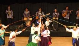 Conjunto de Danza Folklorica Expresion Latino Americana , de Cuenca,