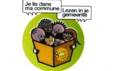 """Vielsalm                                        Opération """" Je lis dans ma commune - Lezen in je gemeente """""""