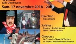 """Chante Wallonie"" 17/11/2018"