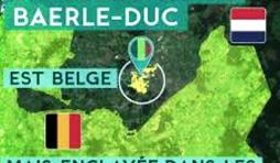 Localisation de Baerle - Duc, enclave belge aux Pays-Bas