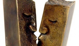French Kiss - Bronze - Gé. Pellini